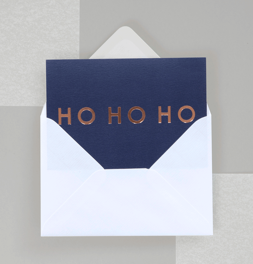 Ho Ho Ho Christmas Card pack by Ola Studios
