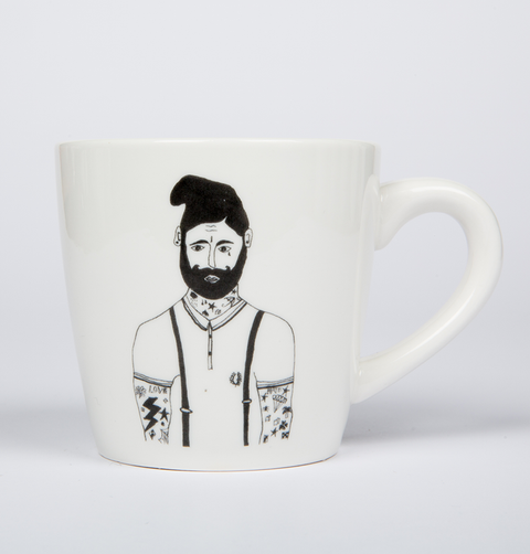 TATTOO MAN MUG