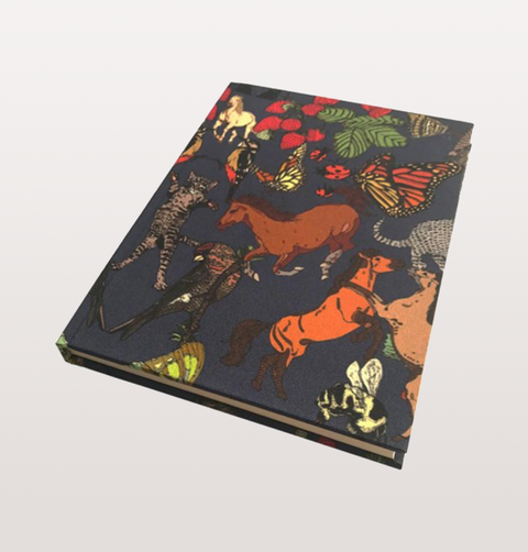 LUXURY SILKEN FAVOUR NOTEBOOKS