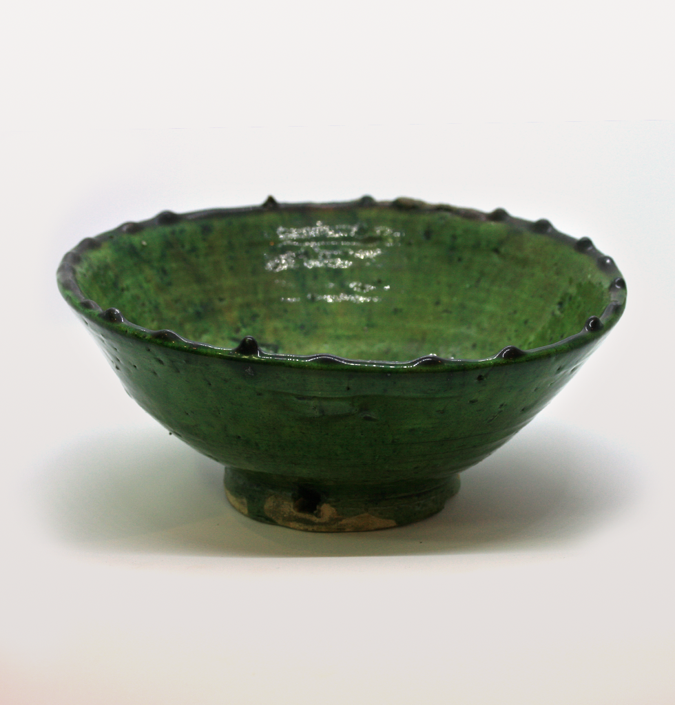 Medium green Moroccan meze bowl. £13 wagreen.co.uk