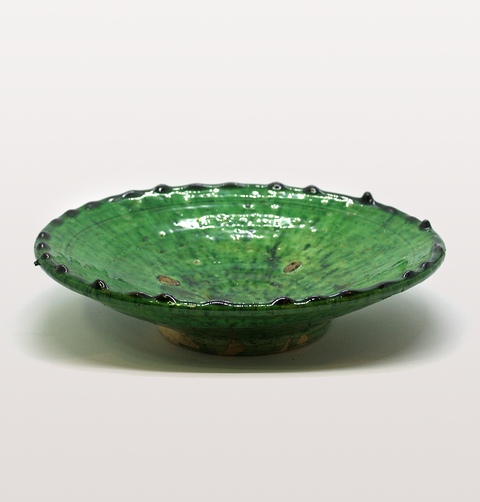 Green Moroccan medium meze plate