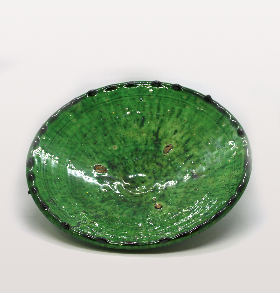 Green Moroccan medium meze plate. £18 wagreen.co.uk