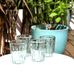 Mexican Margarita tumbler glasses