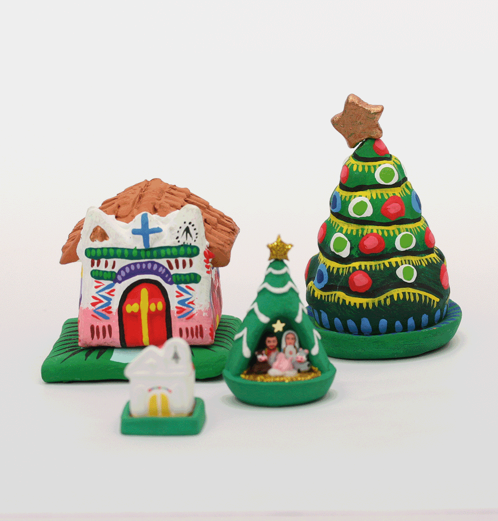 Mini Secret nativity Christmas set