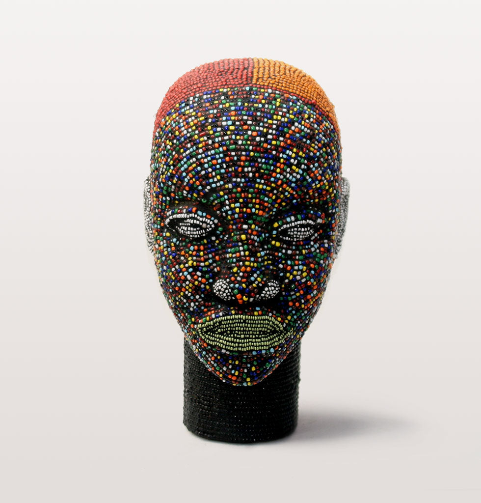 LULU BEADED IFE HEAD