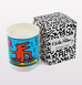 KEITH HARING DJ CANDLE