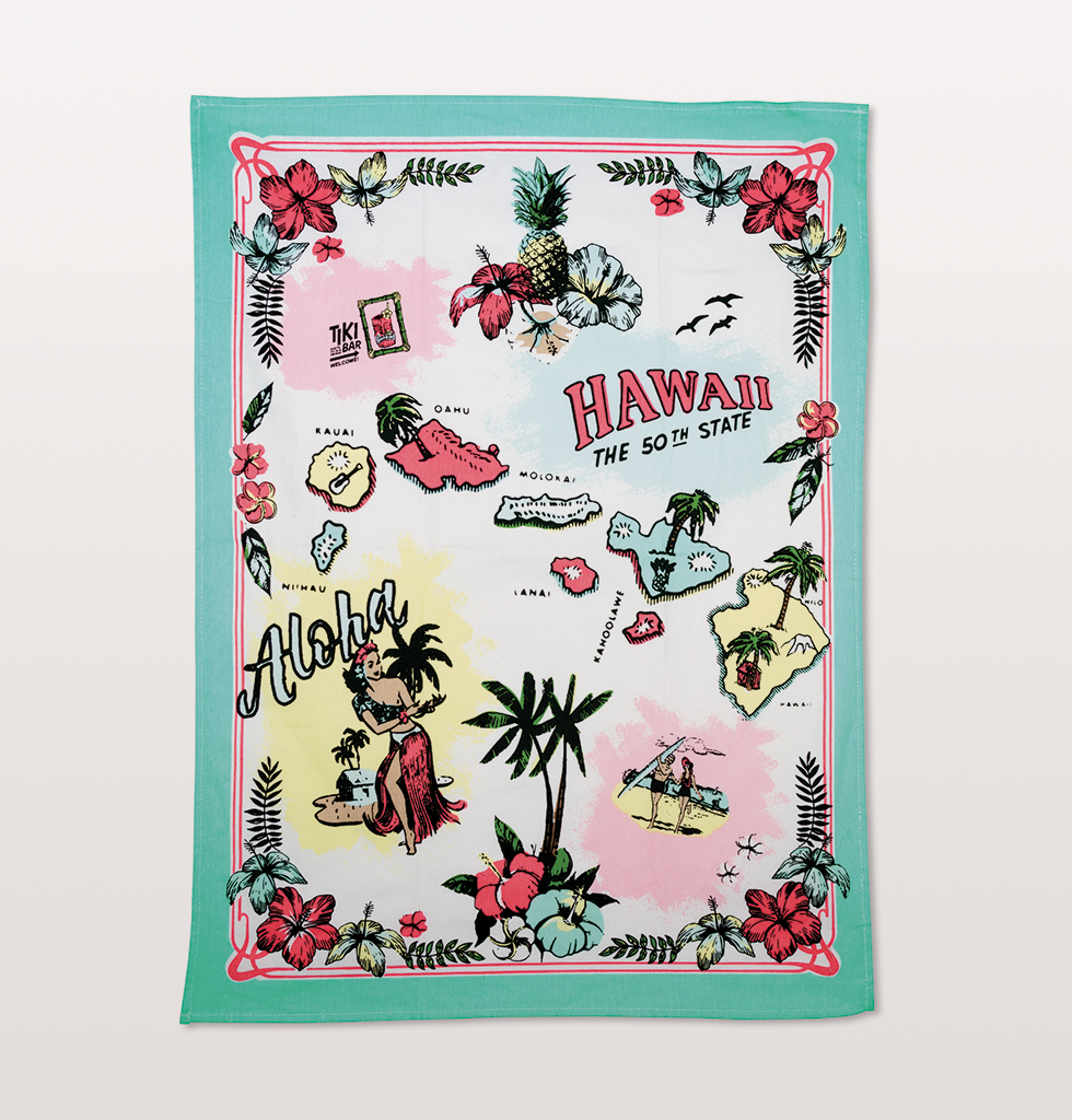 TROPICAL TEA TOWEL SET