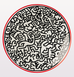 KEITH HARING PATTERN PLATE