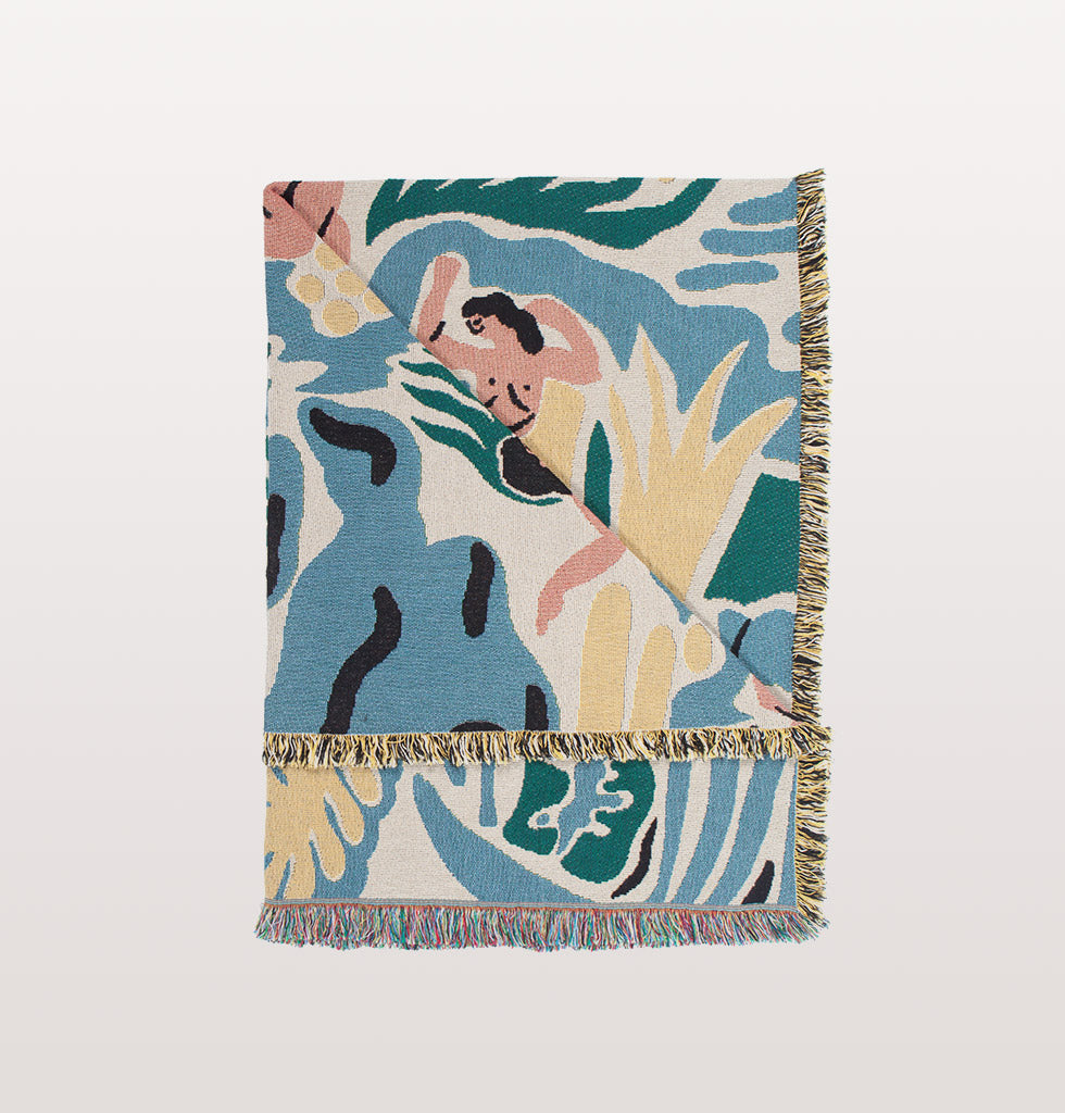 KIMBIE THROW by SLOWDOWN STUDIO