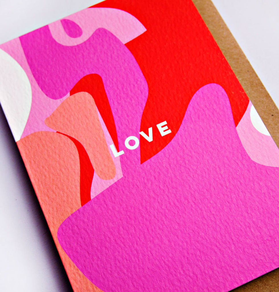 The Completist LOVE card. £3.50 wagreen.co.uk