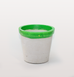 GREEN TERREZZO XL PLANT POTS by CONCRETE CANDY X W.A.GREEN