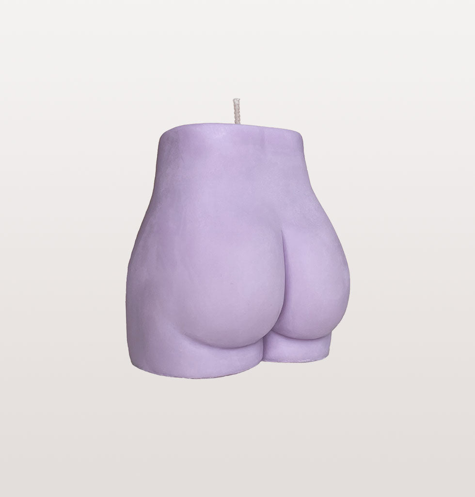 Lilac bum bum Pose Wax candle. £18 wagreen.co.uk