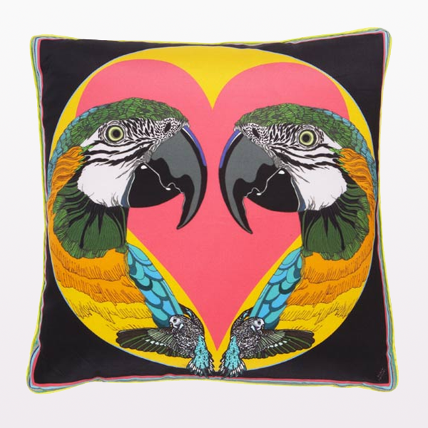 LARGE LOVE BIRDS CUSHION