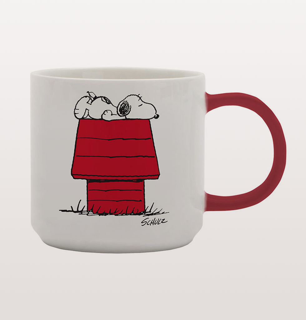 PEANUTS MORNINGS MUG
