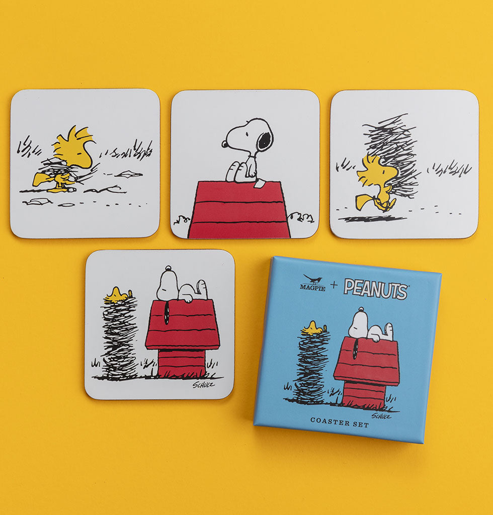 SET OF PEANUTS COASTERS