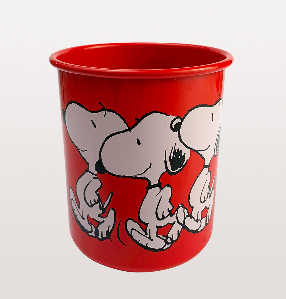 RED SNOOPY DANCING PEN POT HOLDER