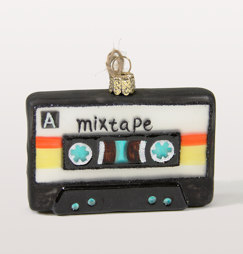 Mix Tape Christmas Tree Decoration