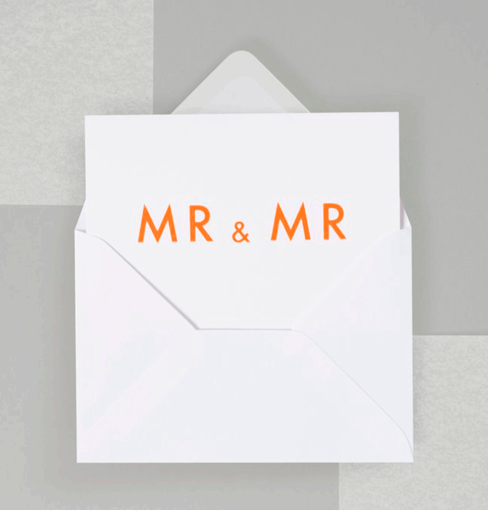 Ola Studio MR&MR card. £3 wagreen.co.uk