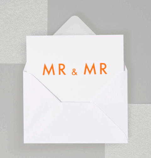 MR AND MR CARD by OLA STUDIO