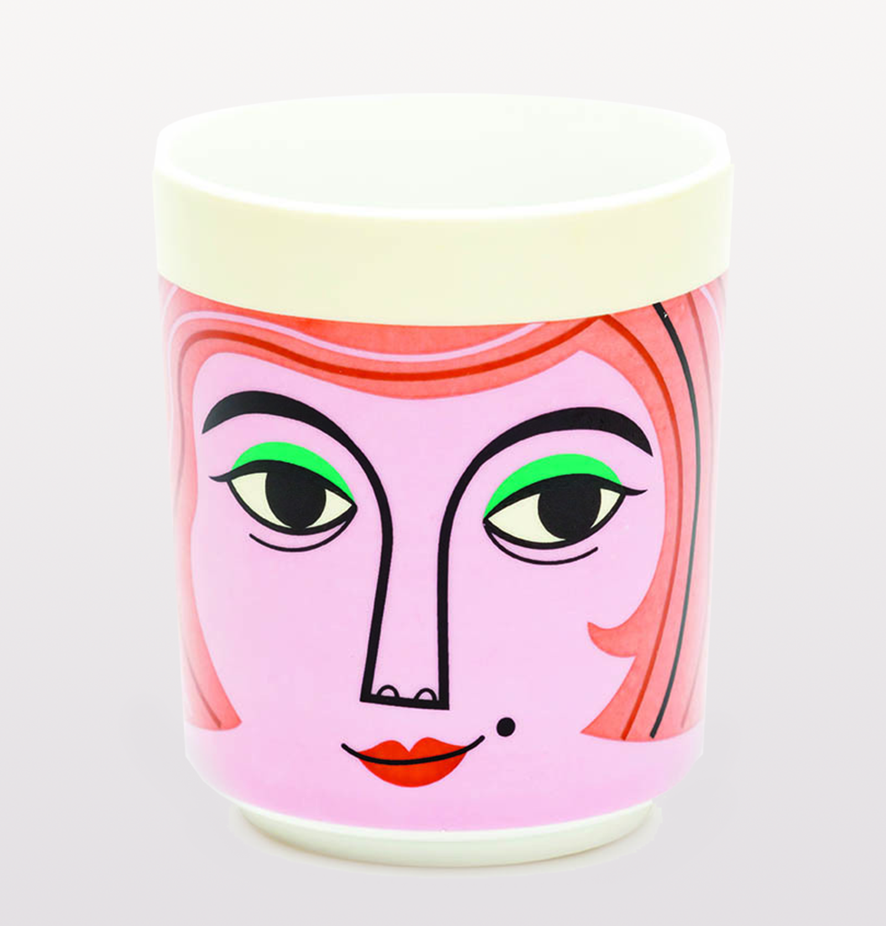 Kitsch Kitchen Mrs.Peterson Face Pot. £15 wagreen.co.uk