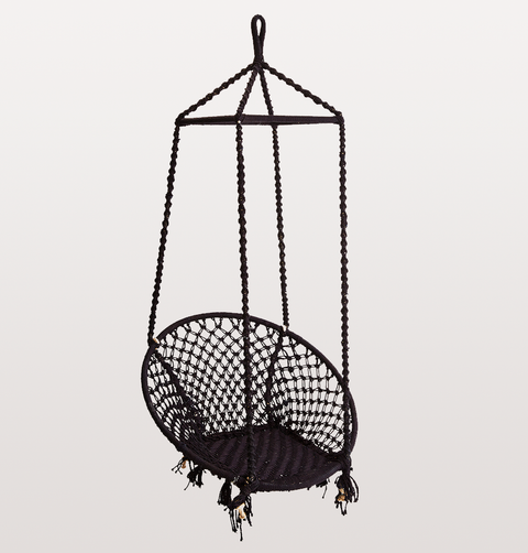 MIDNIGHT BLUE COTTON HANGING CHAIR