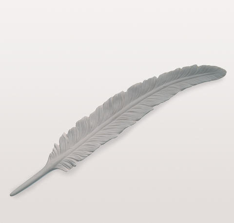 CERAMIC FEATHER