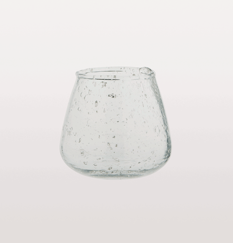Small clear glass drinking glass Madam Stoltz