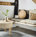 BALI JUTE ROUND LOW COFFEE TABLE