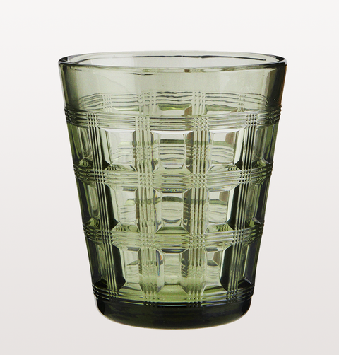 KHAKI GREEN RETRO TUMBLER