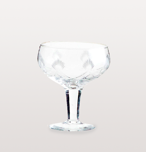 VINTAGE CHAMPAGNE COUPE OR COCKTAIL GLASS