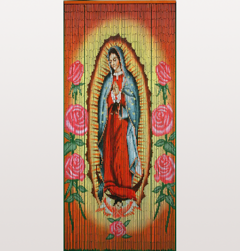 OUR LADY OF GUADALUPE DOOR CURTAIN