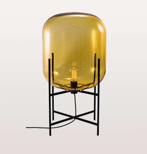 ODA MEDIUM AMBER FLOOR LAMP by PULPO