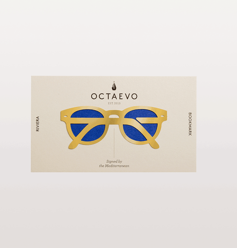 BRASS SUNGLASSES RIVERIA BOOKMARK OCTEAVO