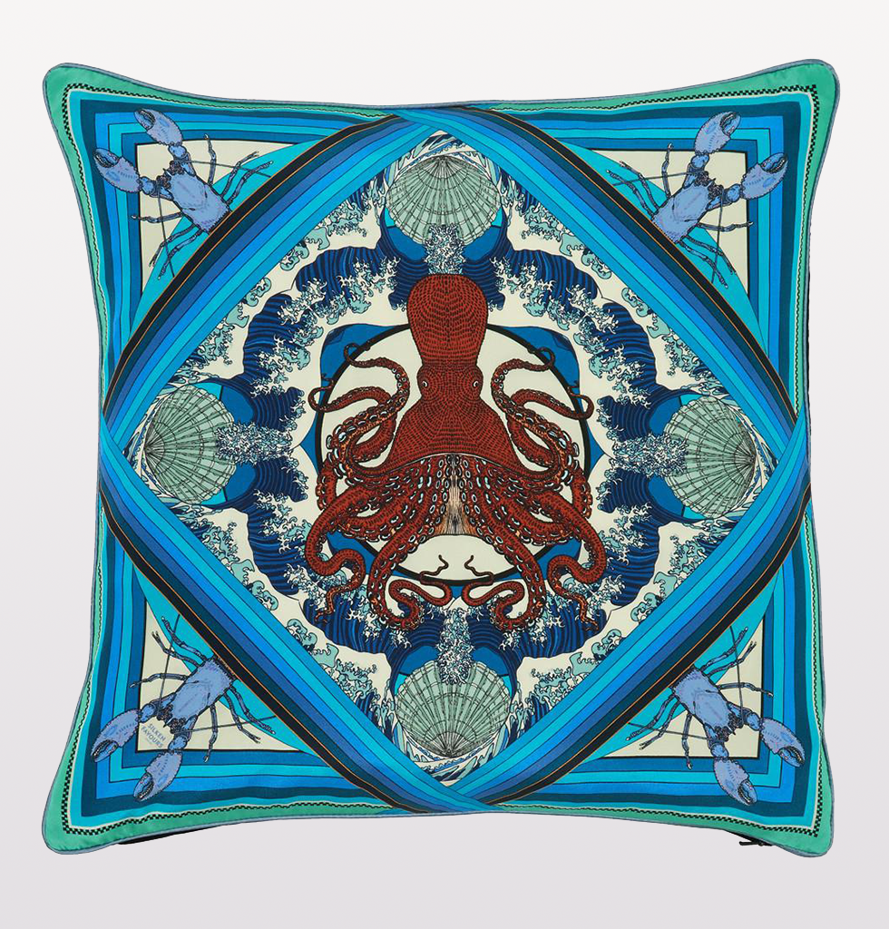 BLUE OCTOPUSSY CUSHION