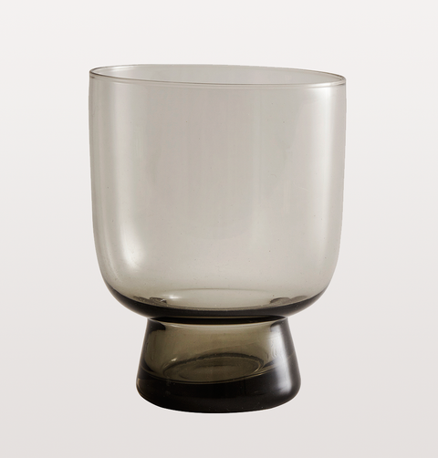 SMALL SMOKEY GREY WINE GLASS by NORDAL