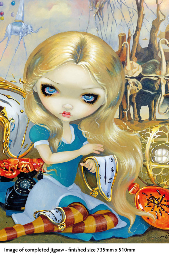ALICE IN A DALI DREAM 1000 PIECE JIGSAW