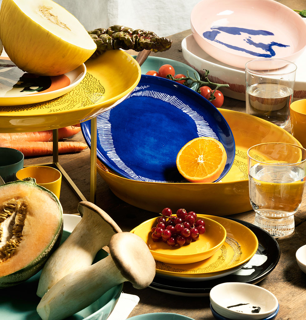 Ottolenghi x Serax. Tablescape. wagreen.co.uk