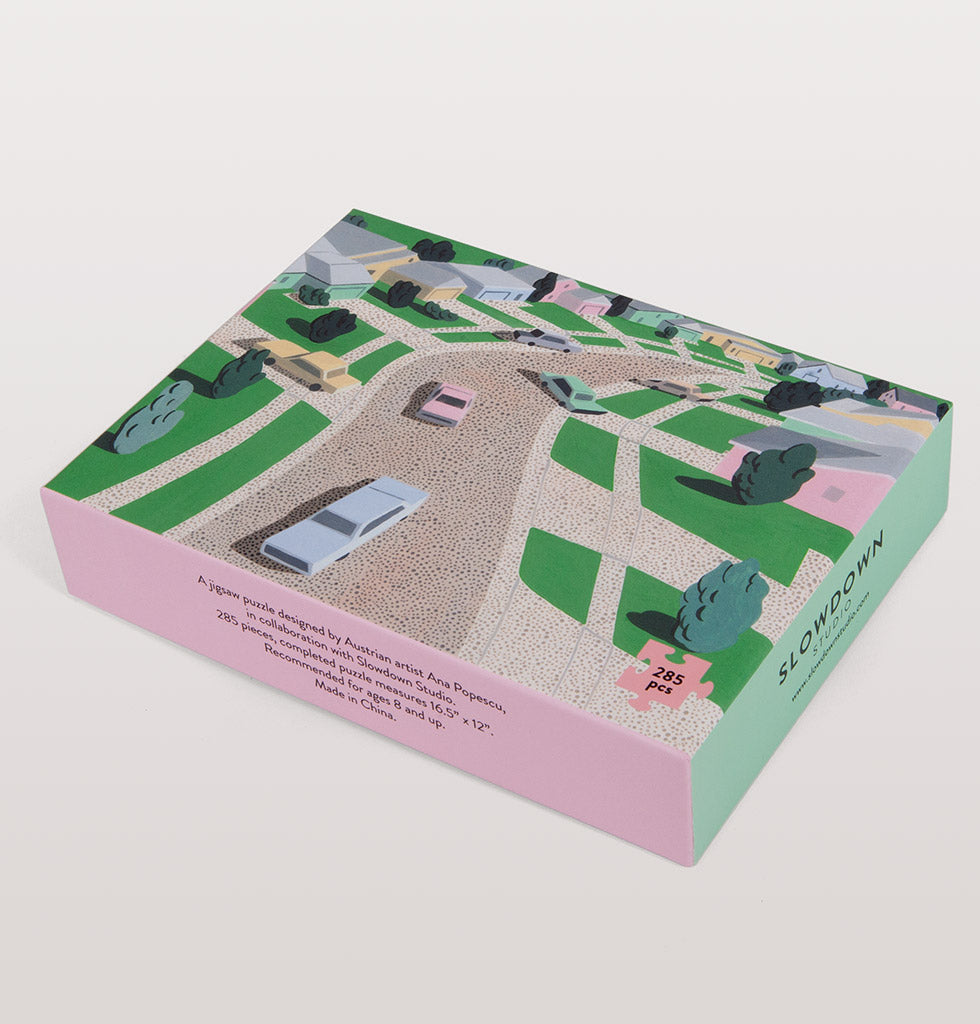 Slowdown Studio pastel suburbia jigsaw puzzle. £30 wagreen.co.uk