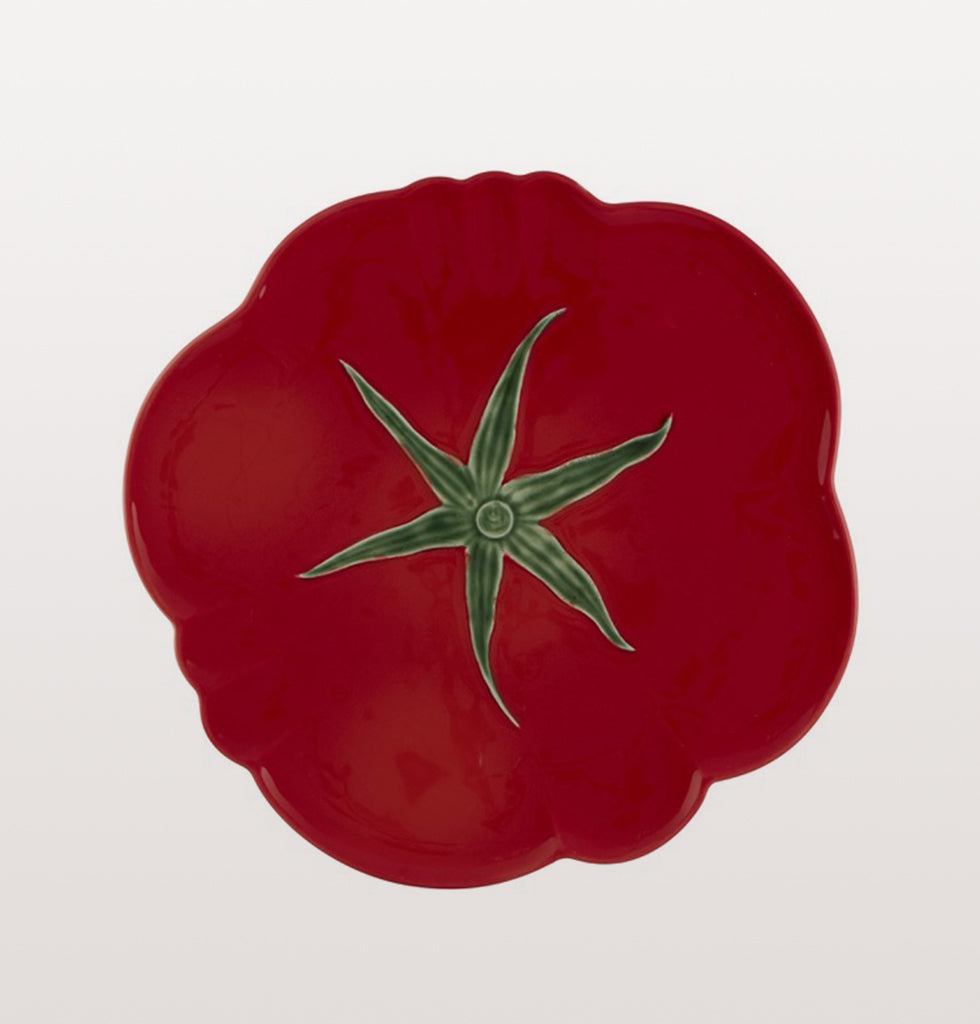 Tomato red pizza plate by Bordallo Pinheiro £45. wagreen.co.uk