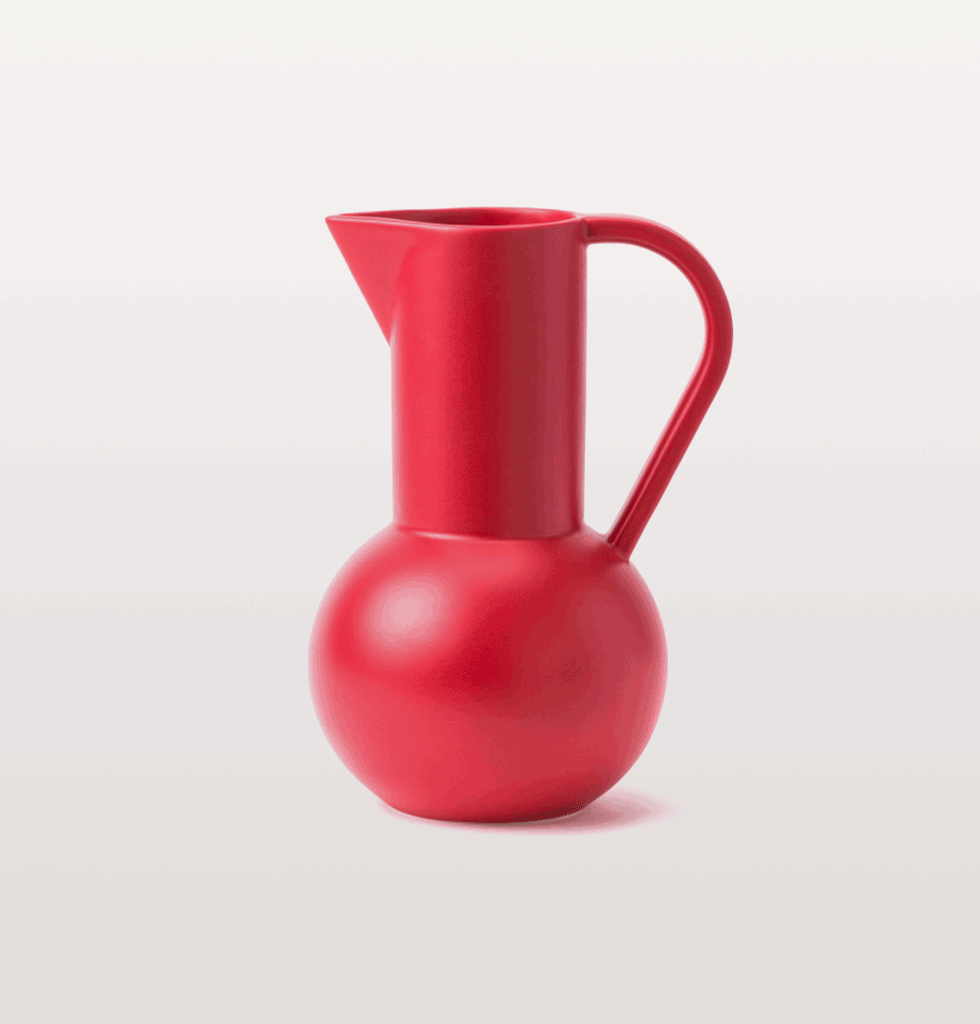 Salsa Red Jug Strom collection by Raawii