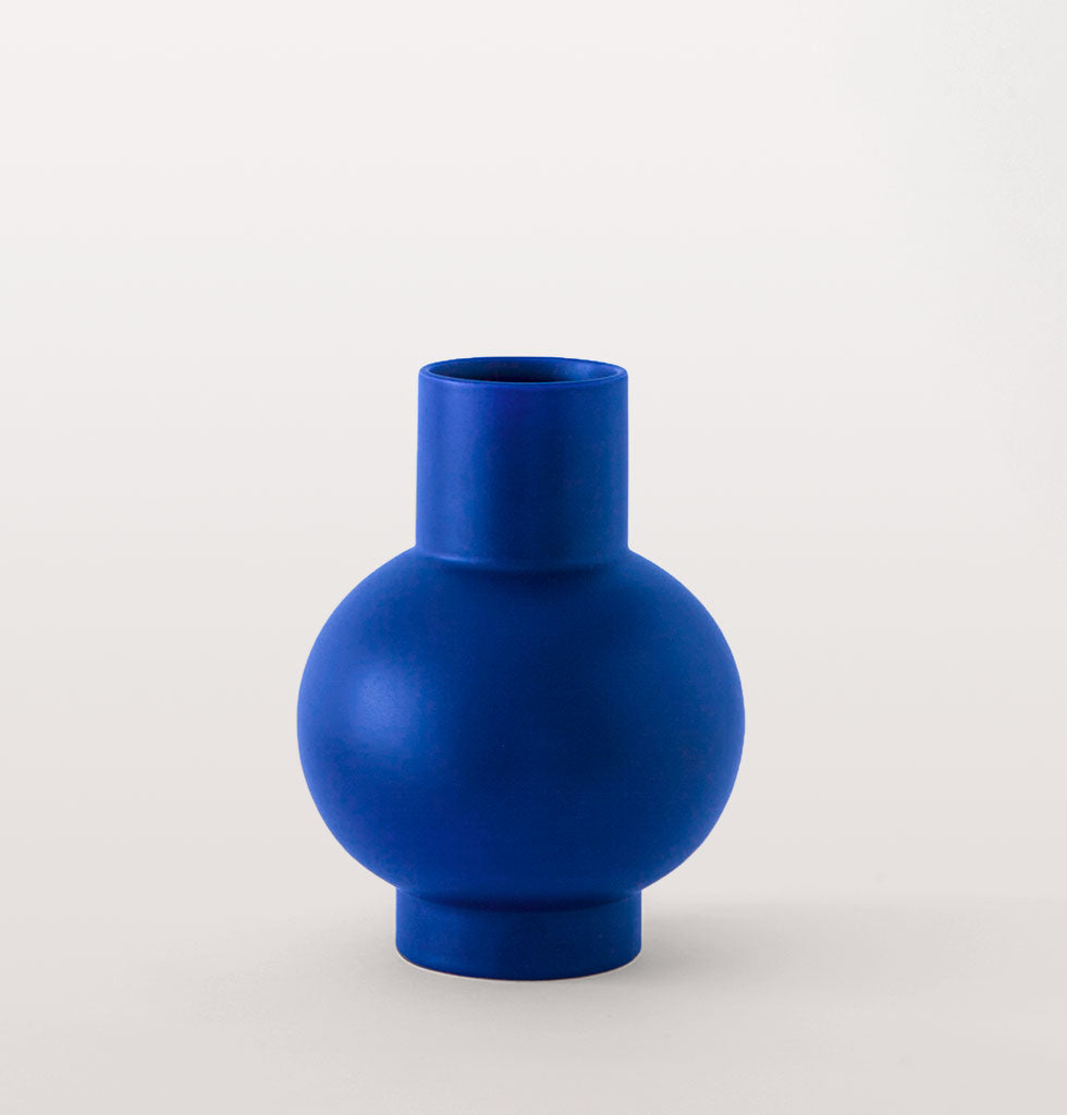 Strom large horizon blue vase by raawii. £83 wagreen.co.uk