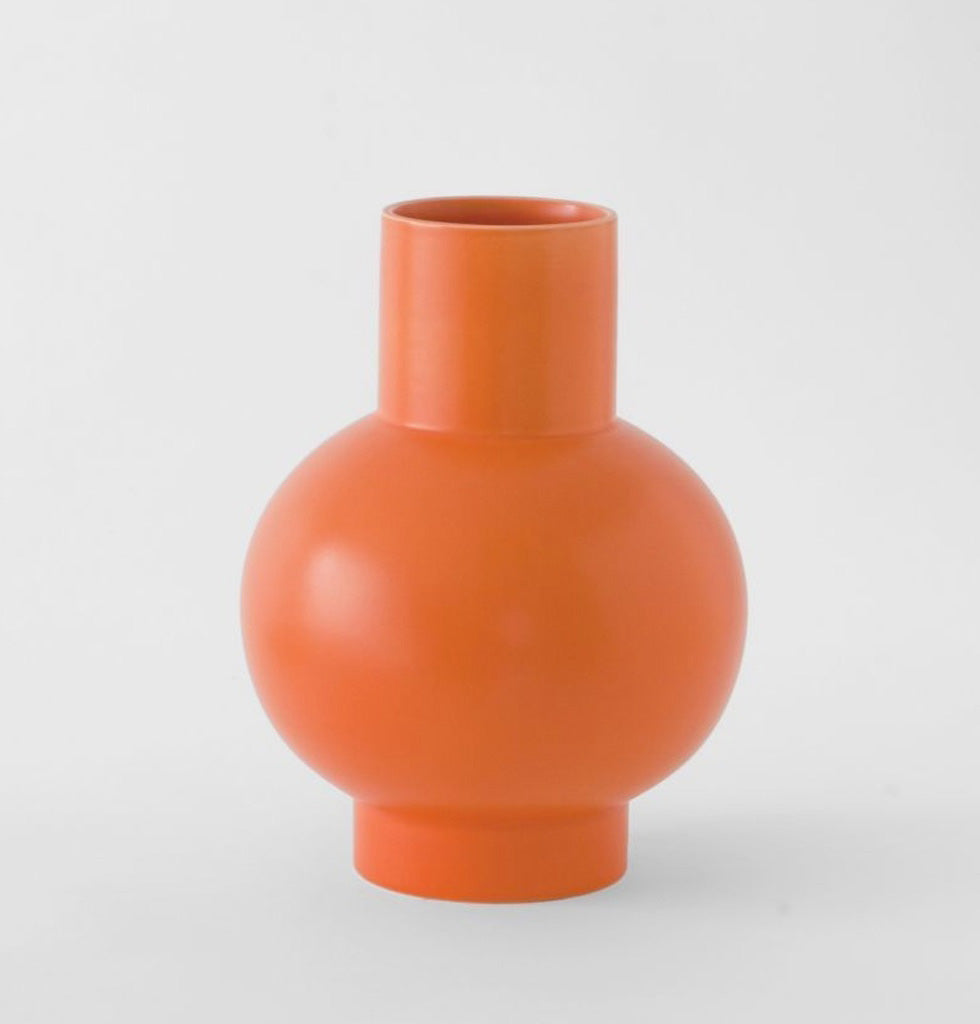 Vibrant orange XL vase by Raawii Strøm. £135 wagreen.co.uk