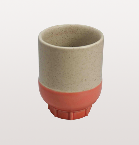 ESPRESSO CUP IN CORAL ORANGE