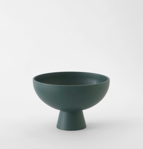 LARGE STROM BOWL GREEN
