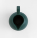 Top view of large dark green ceramic jug by Raawii Strom collection