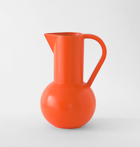 LARGE ORANGE STROM JUG
