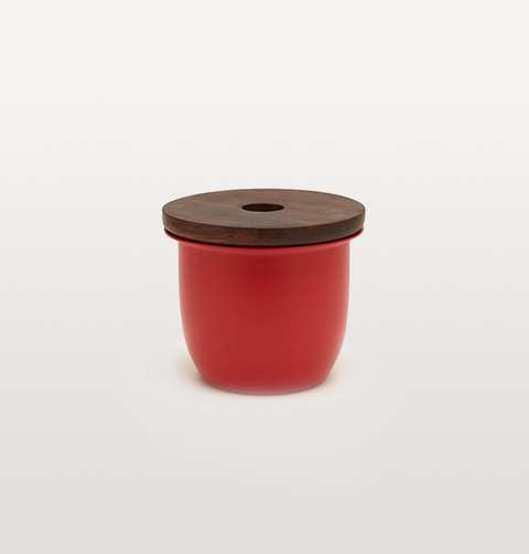 SMALL RED CONTAINER by GRACE SOUKY