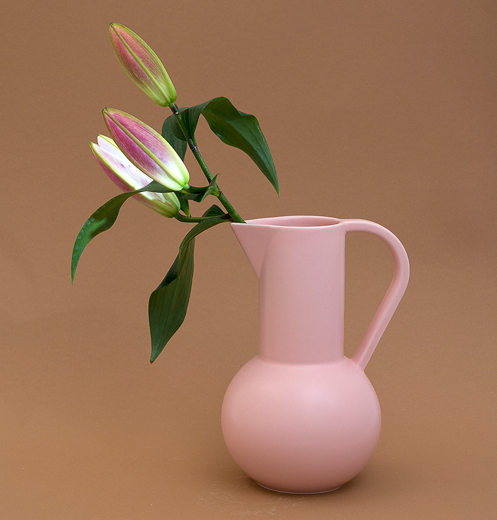 Large pink Raawii jug Coral Blush. £103 wagreen.co.uk