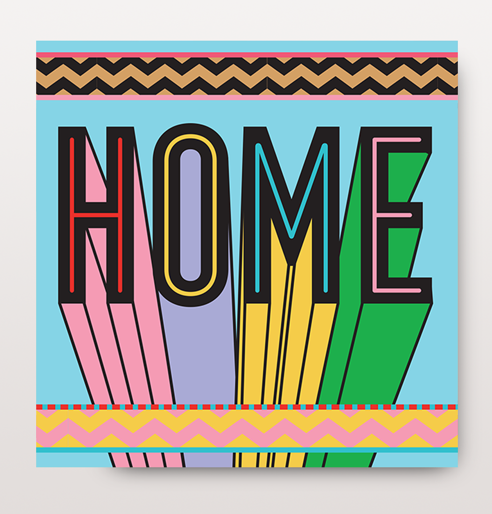 THE BEST COOL NEW HOME GREETINGS CARD | HOME