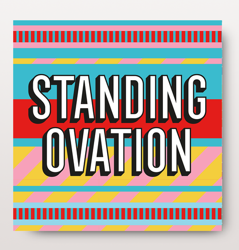 Standing Ovation Congratulations card